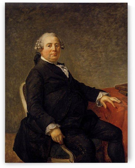 Portrait of philippe laurent de joubert by Jacques-Louis David