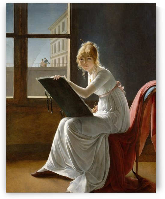 Marie Denise Villers by Jacques-Louis David