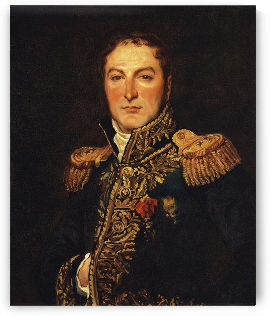 Portrait of Meunier by Jacques-Louis David