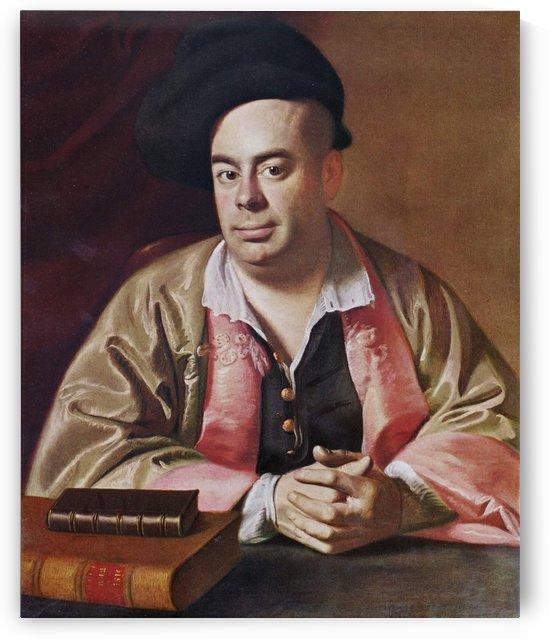 A man with two books by John Singleton Copley