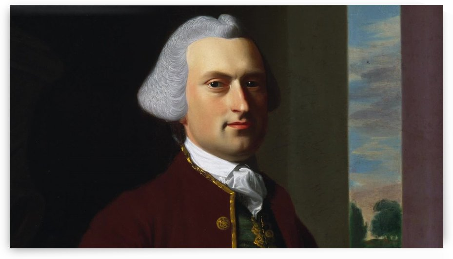 A man with gray hair by John Singleton Copley