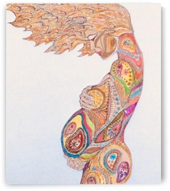 In Utero  by Zaramar Paintings