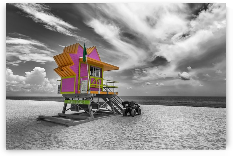 MIAMI BEACH Florida Flair by Melanie Viola