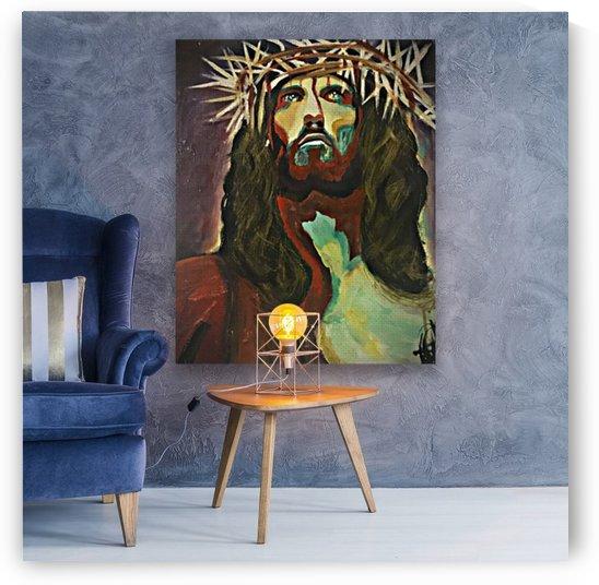 Jesus Christ by Alexis Garcia