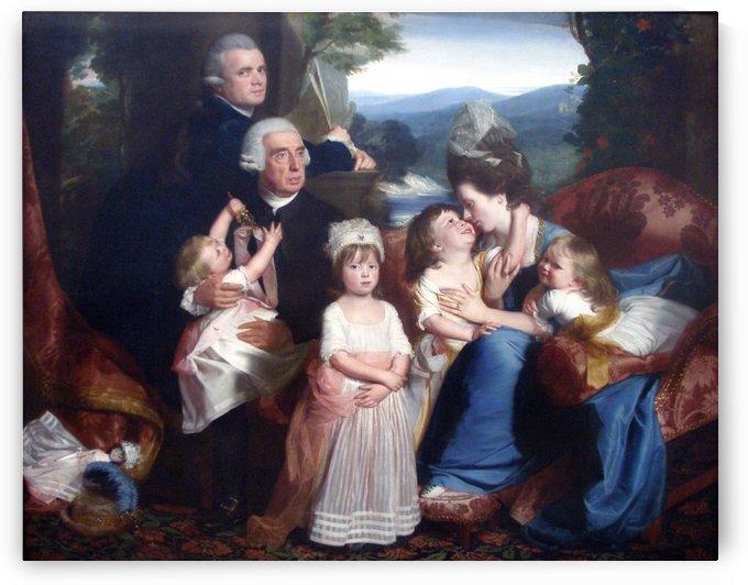 Portrait of familie Copley by John Singleton Copley