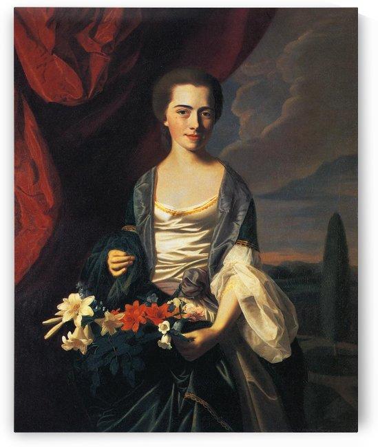 Mrs Woodbury Langdon by John Singleton Copley