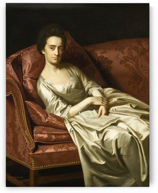 Portrait of a lady sitting by John Singleton Copley