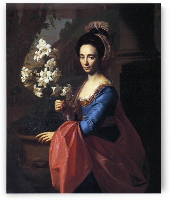 Mrs.Moses Gill by John Singleton Copley