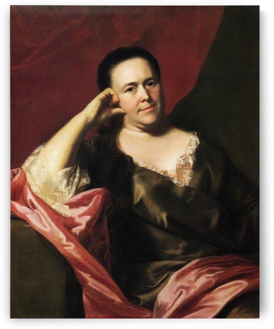 Mrs John Scoally by John Singleton Copley