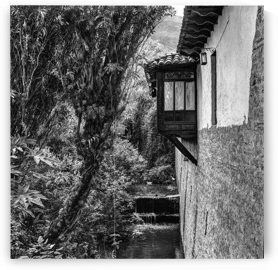 BALCON VILLA DE LEYVA IMPRESION   by Manuel Alexiades