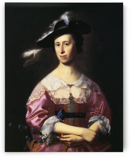 Mrs.Samuel Quincy by John Singleton Copley
