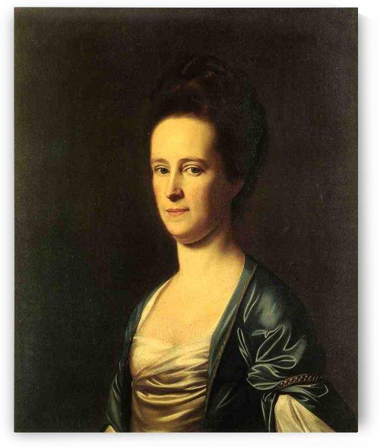 Mrs.Elizabeth Coffin by John Singleton Copley