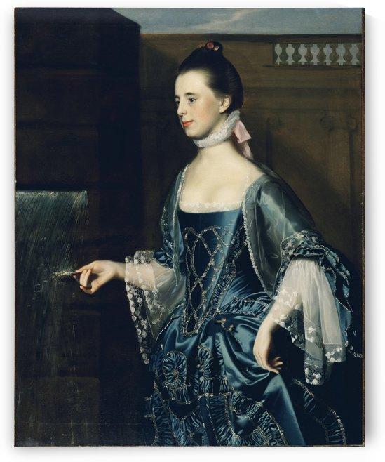 Mrs.Daniel Sargent by John Singleton Copley