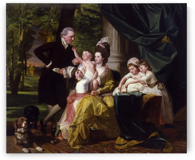 Sir William Pepperrell and His Family by John Singleton Copley