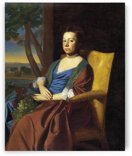 Mrs.Isaac Smith by John Singleton Copley