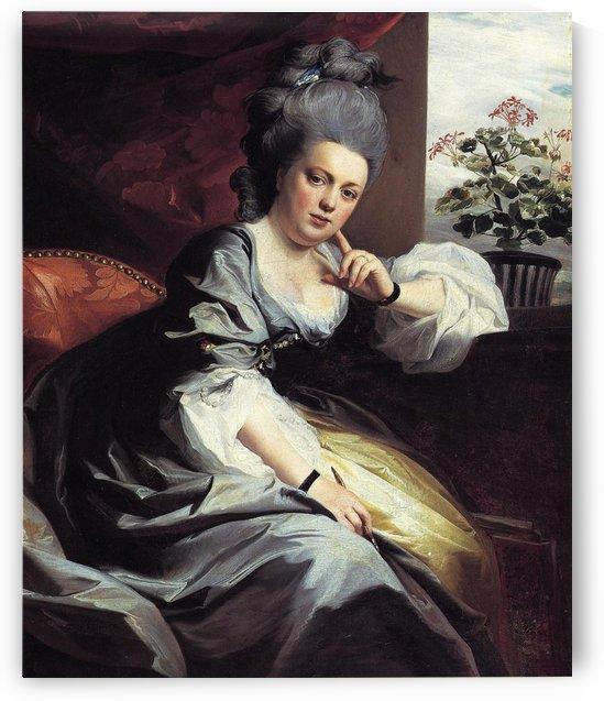 Mrs. Clark Gayton by John Singleton Copley