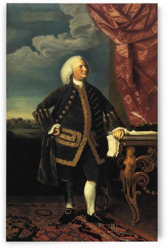 Jeremiah Lee by John Singleton Copley