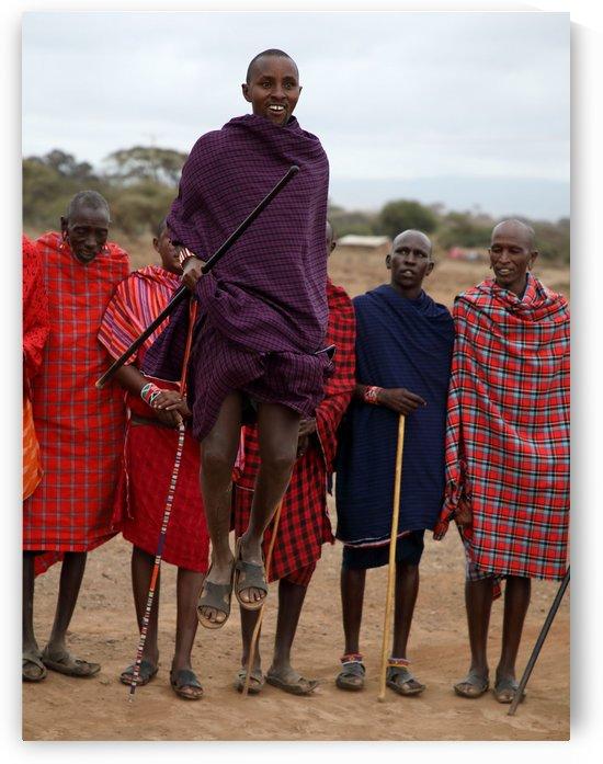 Flying Masai by Eliot Scher