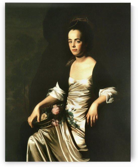 Portrait de Madame John Stevens by John Singleton Copley