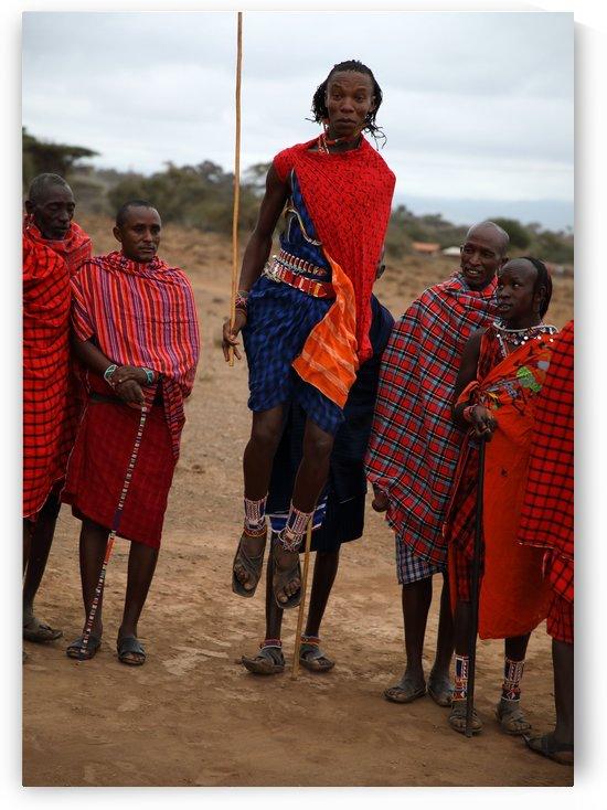 Masai Dance by Eliot Scher