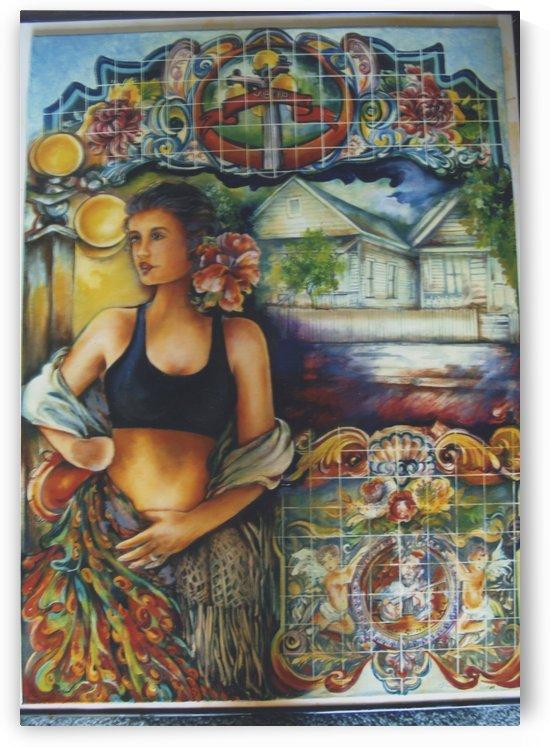 Flamenco Dancer  by  Gloria Nova
