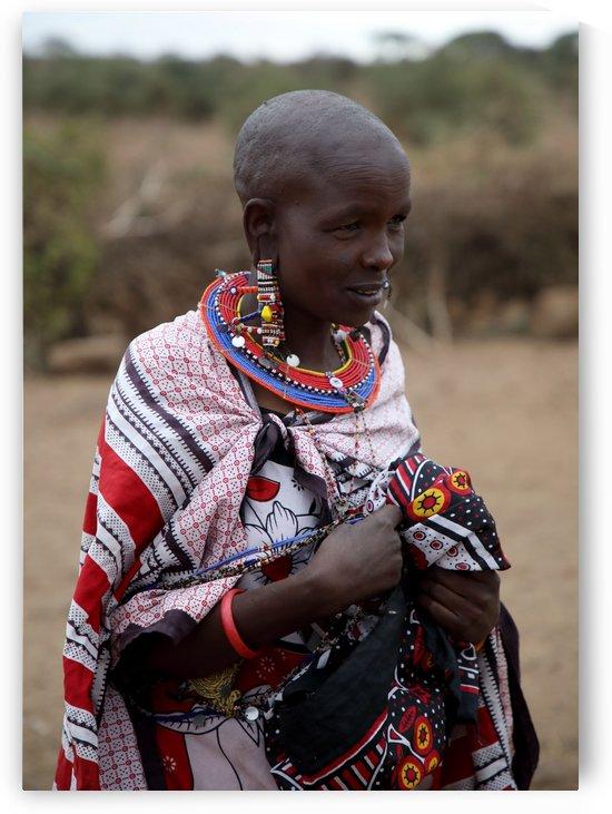 Masai Woman by Eliot Scher