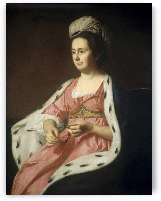 Abigail Smith by John Singleton Copley