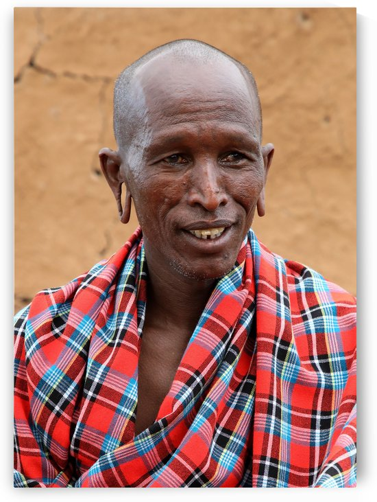 Proud Masai by Eliot Scher