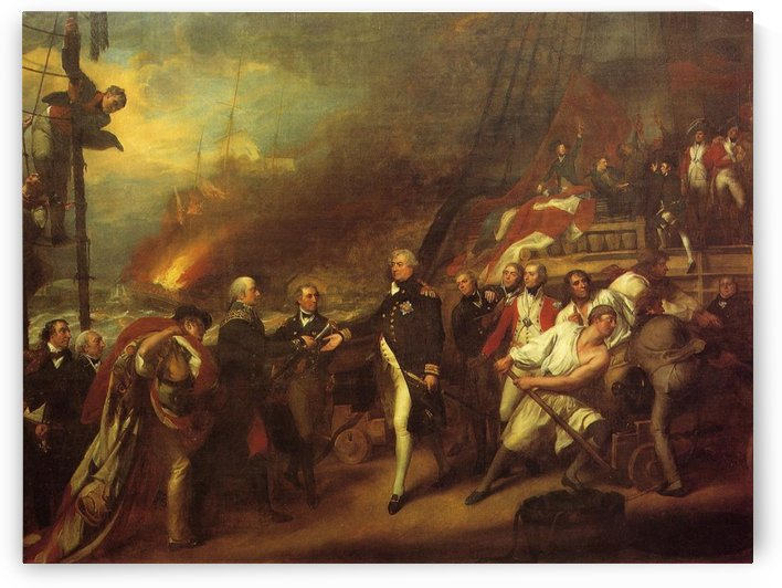 The Victory of Lord Duncan by John Singleton Copley