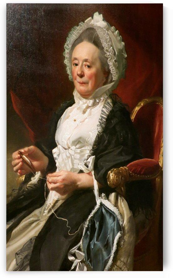Portrait of a Lady Wadsworth by John Singleton Copley