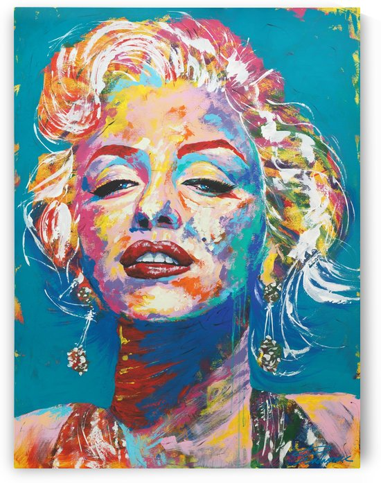 Marilyn Monroe Portrait Art - Tadaomi - by Tadaomi K