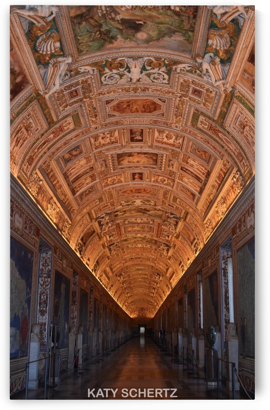 Alone In The Vatican by Katy Schertz