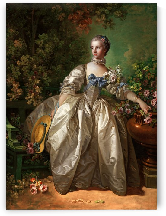 Madame Bergeret by François Boucher by xzendor7