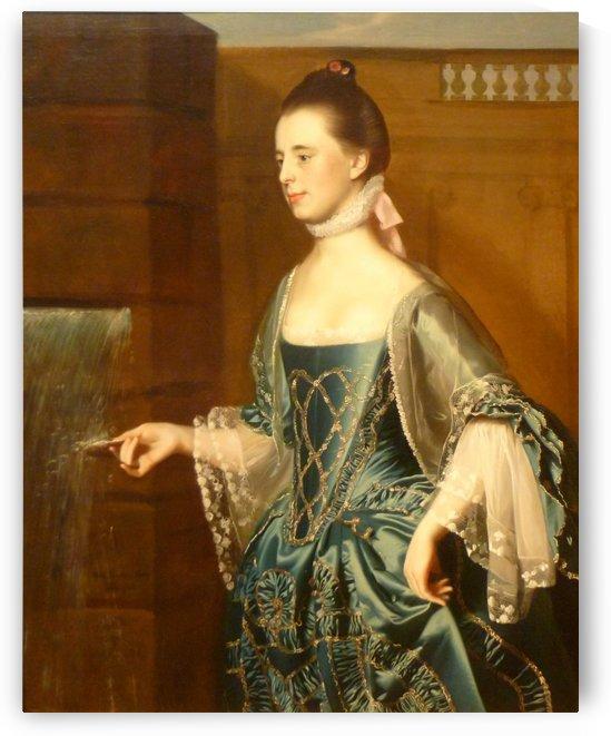 Mary Sargent by John Singleton Copley