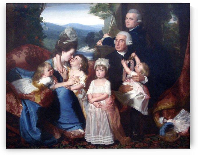 Copley family by John Singleton Copley