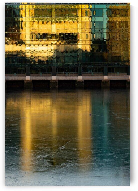 Frozen Waterway by Dave Therrien