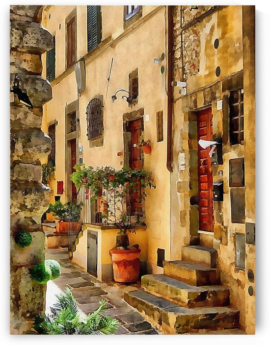 Around The Corner in Cortona by Dorothy Berry-Lound