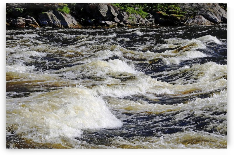 Whitewater Rapids by Deb Oppermann