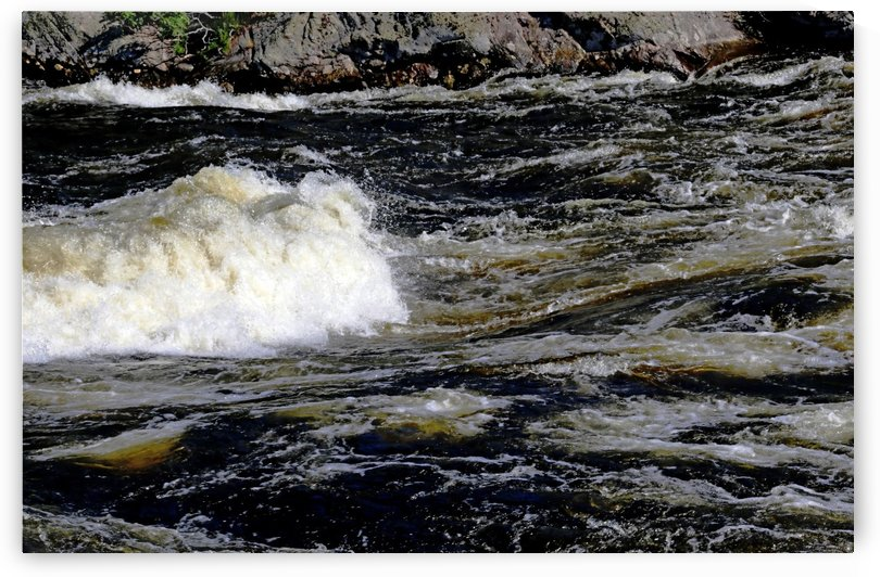 Whitewater Rapids III by Deb Oppermann