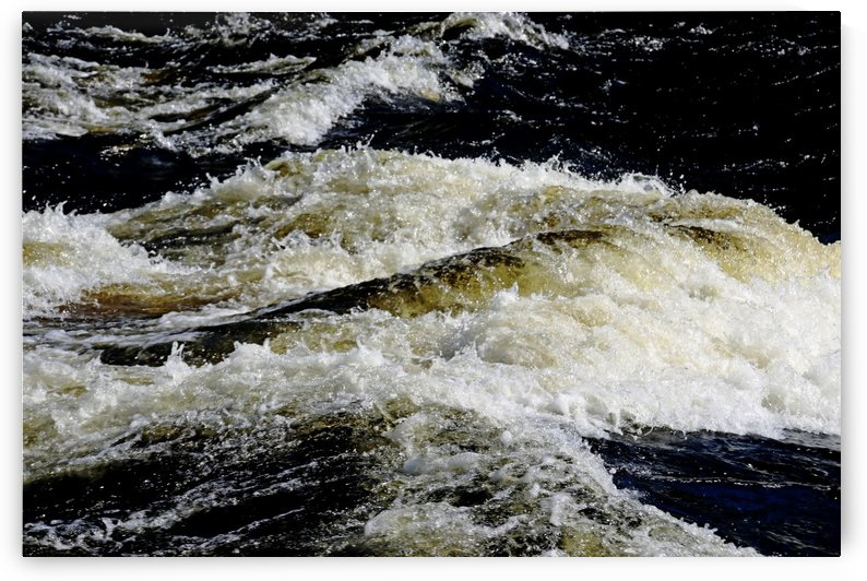 Whitewater Rapids V by Deb Oppermann