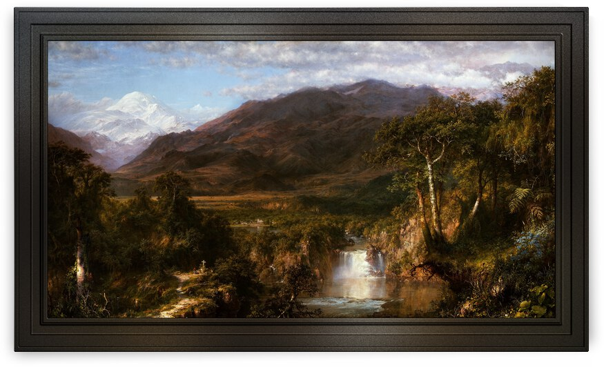 The Heart of the Andes by Frederic Edwin by xzendor7