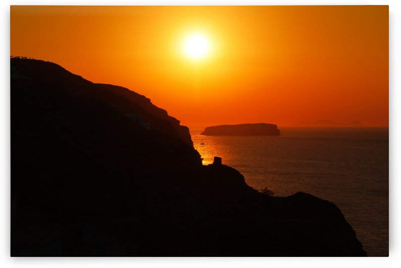 Sunset Landscape  by Bentivoglio Photography