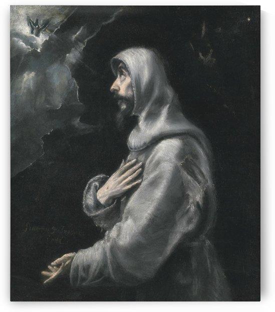 Saint Francis in Ecstasy by Caravaggio