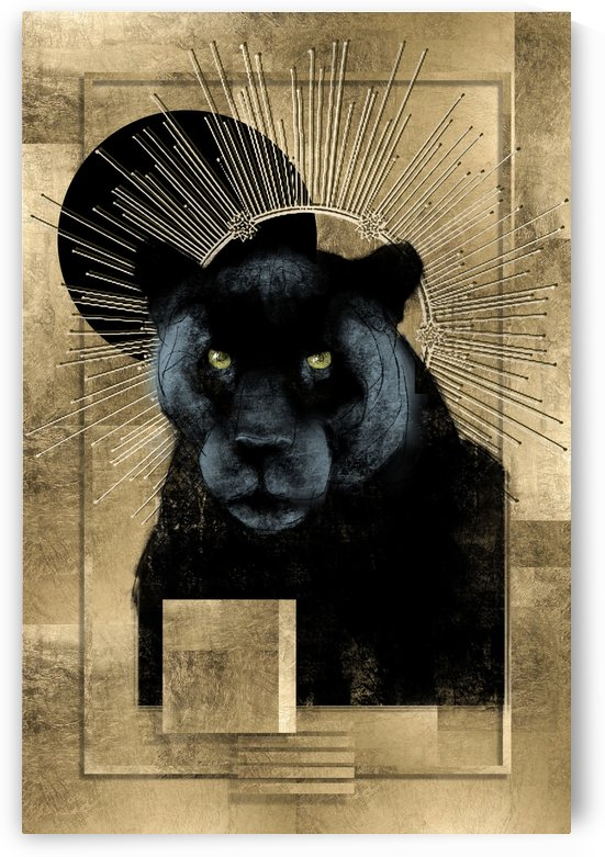 Iconic Panther by GentryArts