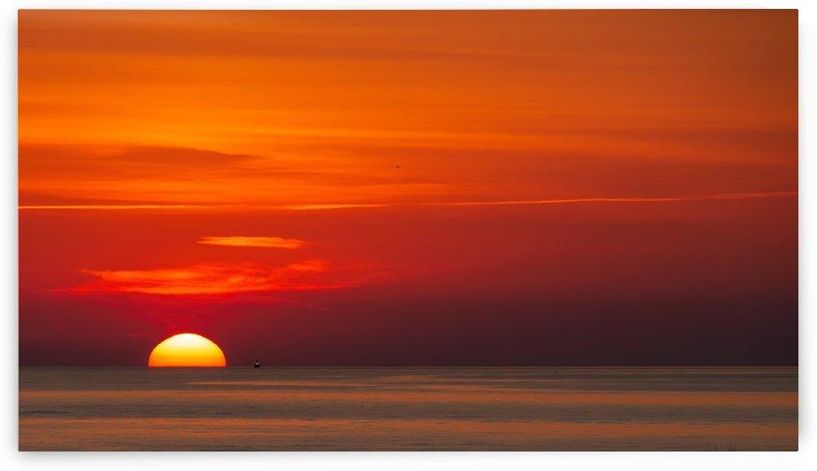 Early Morning Shrimp Boat by Darryl Brooks