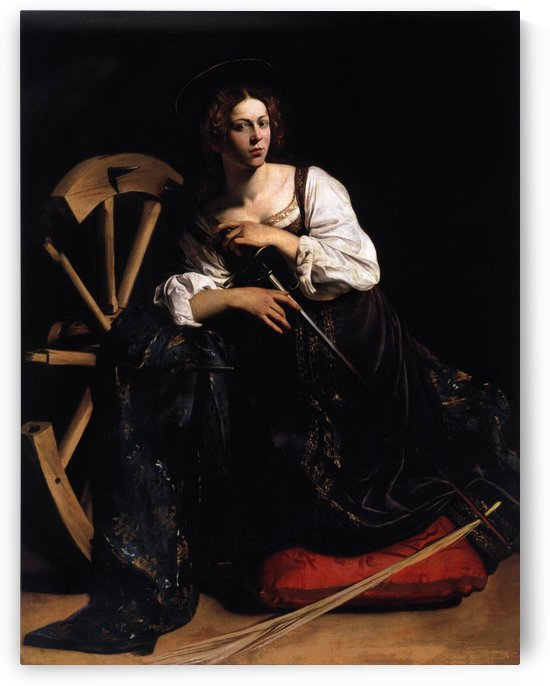 St Catherine of Alexandria by Caravaggio