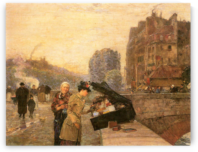 St Michel by Hassam by Hassam