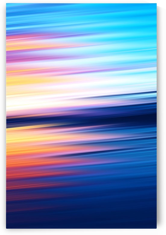 Abstract Sunset XI by Art Design Works
