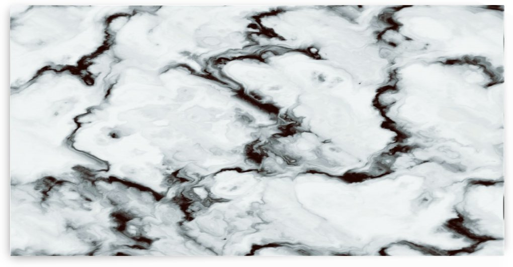 True White Marble - panoramic abstract wall art by Jaycrave Designs