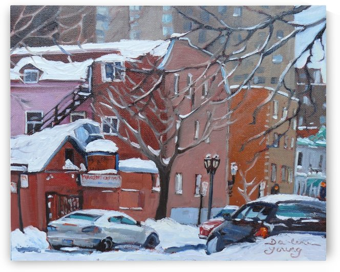 Marche Campus Montreal McGill Ghetto by Darlene Young